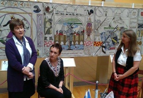 Cairistìona, Morag & Anne Pitcher (Storyteller)